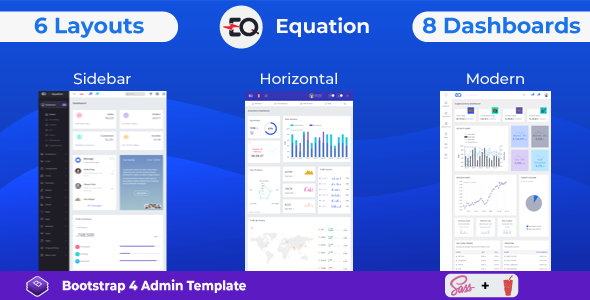 Equation - Responsive Admin Dashboard Template