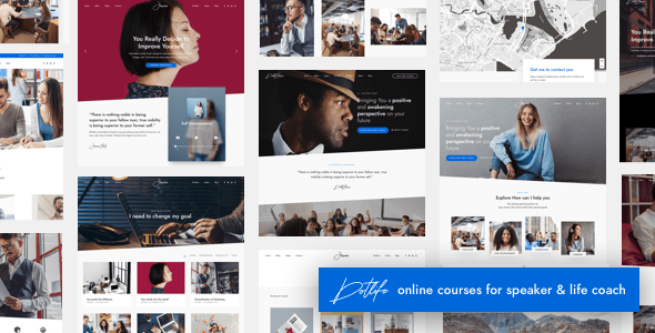 DotLife | Coach Online Courses WordPress