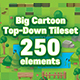 Cartoon Game Top Down Tileset - GraphicRiver Item for Sale