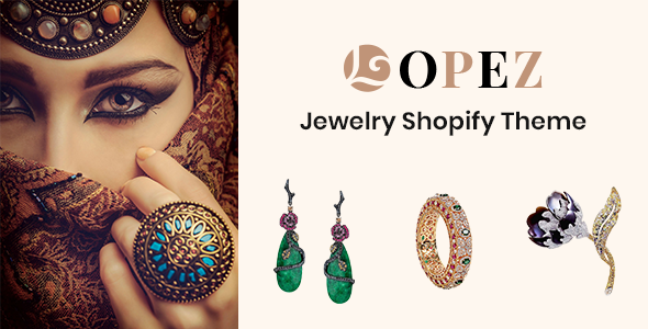 Lopez – Jewelry Shopify Theme