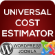 Universal Cost Estimator - CodeCanyon Item for Sale