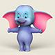 Cartoon Elephant - 3DOcean Item for Sale