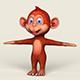 Cartoon Monkey - 3DOcean Item for Sale