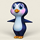 Cartoon Penguin - 3DOcean Item for Sale