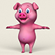 Cartoon Pig - 3DOcean Item for Sale