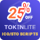 TokenLite - ICO / STO Token Sale Management Dashboard - ICO Admin Script