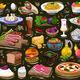 Set of Food Background - GraphicRiver Item for Sale