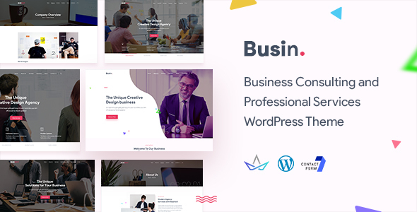 Busin | Corporate Business WordPress Theme