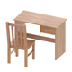 wooden table and chair - 3DOcean Item for Sale