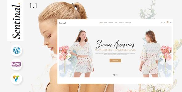 Sentinal - Fashion  Modern Shop WooCommerce Theme