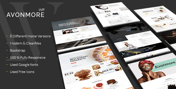 Creative Multipurpose WordPress Theme -  Avonmore