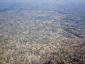 Aerial view of endless patchwork of farms in Ethiopia. - PhotoDune Item for Sale