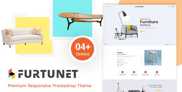 Furtunet - Elegant Furniture & Decor Prestashop Theme