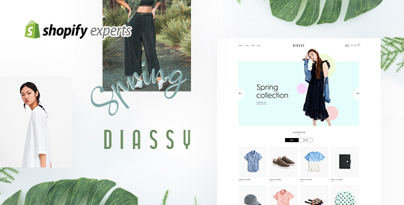 Diassy - Fashion Shopify Theme