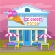 Ice Cream Parlor, Cold Dessert Business for Summer - GraphicRiver Item for Sale