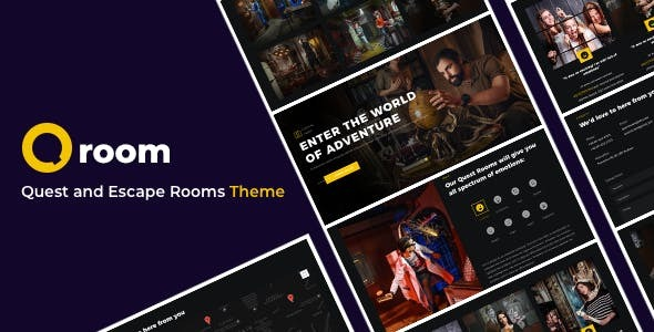 Qroom -  Escape Room WordPress