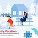 Poster Motivating Spend Winter Time with Family - GraphicRiver Item for Sale