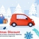 Christmas Discount for Woman Advertising Poster - GraphicRiver Item for Sale