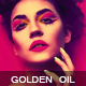 Golden Oil Paint - GraphicRiver Item for Sale