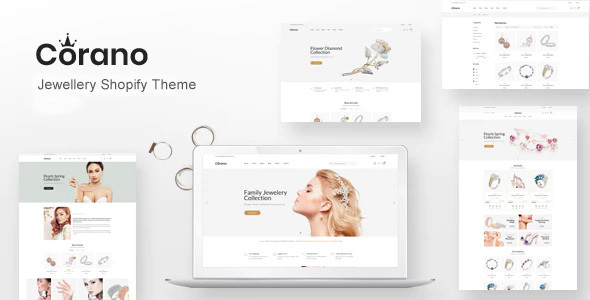 Corano – Jewellery Shopify Theme