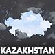 Kazakhstan Map - Republic of Kazakhstan Map Kit - VideoHive Item for Sale