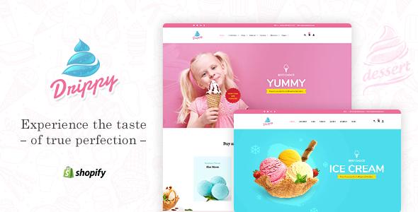 Drippy - Ice Cream Shopify Theme