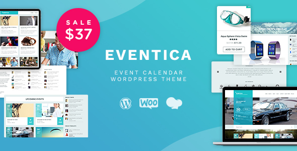 Eventica - Event Calendar & Ecommerce WordPress Theme