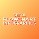 Flowchart Infographics Set 01 - GraphicRiver Item for Sale
