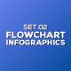 Flowchart Infographics Set 02 - GraphicRiver Item for Sale
