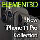Element3D - iPhone 11 Pro / Max Collection - 3DOcean Item for Sale