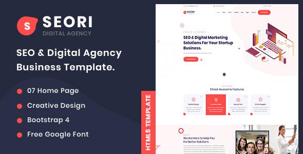 Seori - SEO & Digital Marketing HTML5 Templete