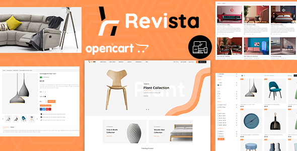 Revista - Opencart 3 Furniture Responsive Theme
