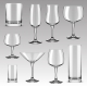 Set of Drinking Glass for Alcohol Beverage - GraphicRiver Item for Sale