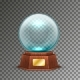 Isolated Magic or Crystal Ball on Transparent - GraphicRiver Item for Sale
