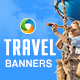 Travel HTML5 Banners - 7 Sizes - CodeCanyon Item for Sale