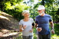 Beautiful sporty mature couple styaing fit with sport - PhotoDune Item for Sale
