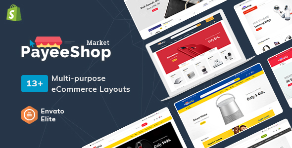 Payee Shop - Shopify Multi-Purpose Responsive Theme