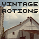 Vintage Photo Actions - GraphicRiver Item for Sale