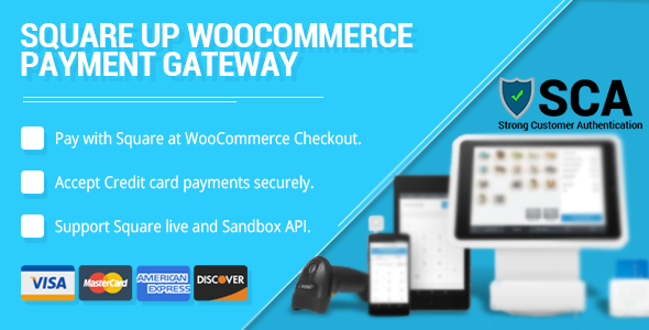 WooCommerce Square Up Payment Gateway Download