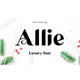Allie - GraphicRiver Item for Sale