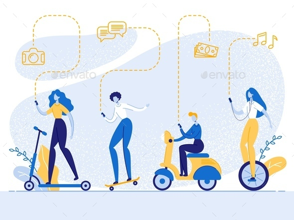 People with Smartphones Drive Ecological Transport