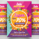 Autumn / Fall Sale Flyer Template - GraphicRiver Item for Sale