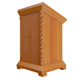 Church wooden box - 3DOcean Item for Sale