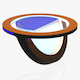 TV Studio News Desk 10 - 3DOcean Item for Sale