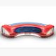 TV Studio News Desk 11 - 3DOcean Item for Sale