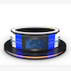 TV Studio News Desk 12 - 3DOcean Item for Sale