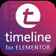 Timeline for Elementor WordPress Plugin - CodeCanyon Item for Sale