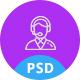 Callio - Call Center Business PSD Template - ThemeForest Item for Sale