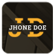 Jhone Doe HTML5 Template - ThemeForest Item for Sale