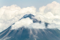 Summit of Volcan Arenal Among Clouds in Costa Rica - PhotoDune Item for Sale